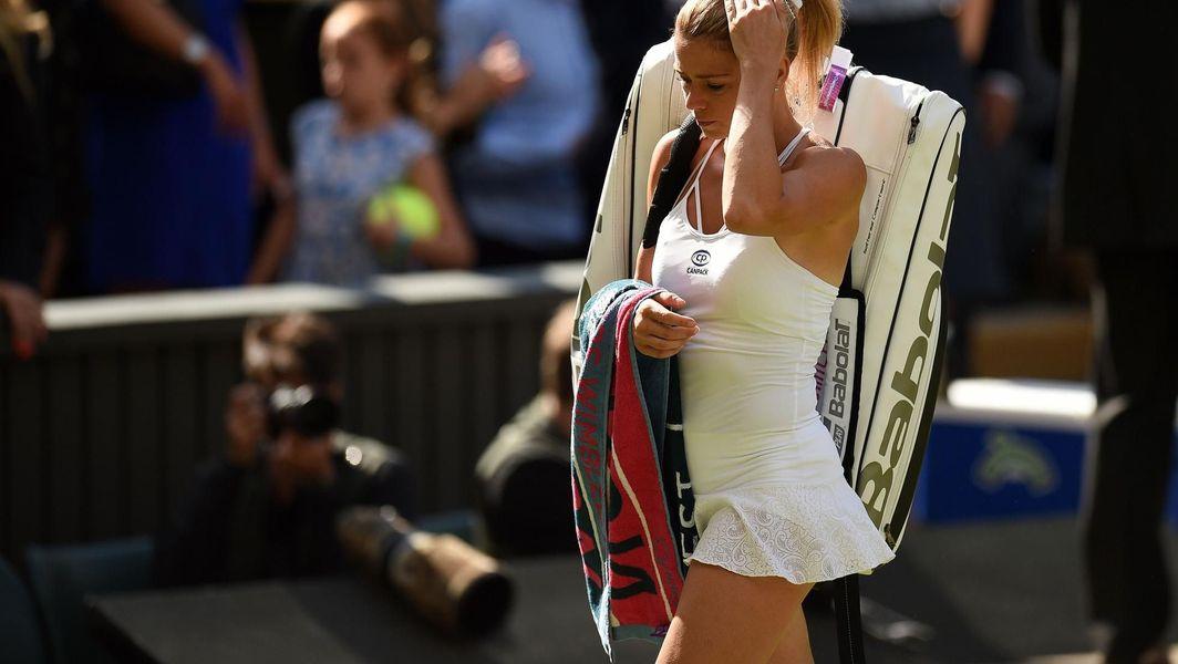 Hot camila giorgi Tennis beauty