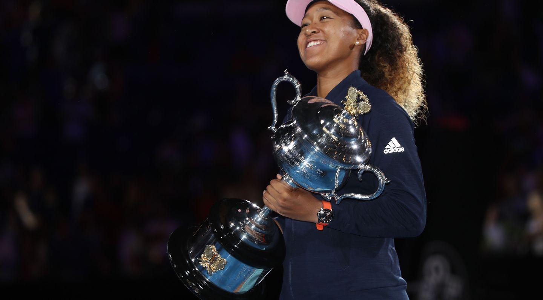 Naomi Osaka, 2019 Australian Open champion (Getty)