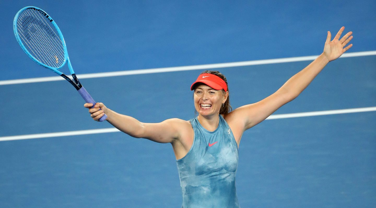 Sharapova Inspired By Nadal To Get Back To The Top I Ve