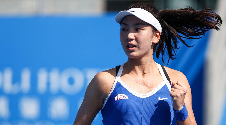 Wang Xinyu Squeezes Past Falconi In Storm Hit Australian