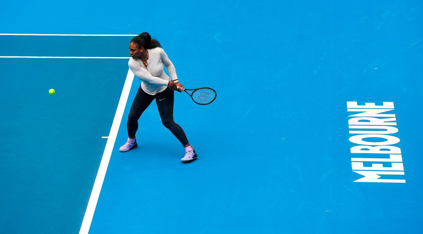 Serena Osaka Venus Vs Gauff Light Up Australian Open Day 1