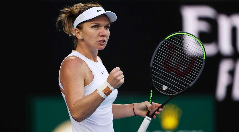 Halep Survives Brady Upset Bid In Australian Open First Round