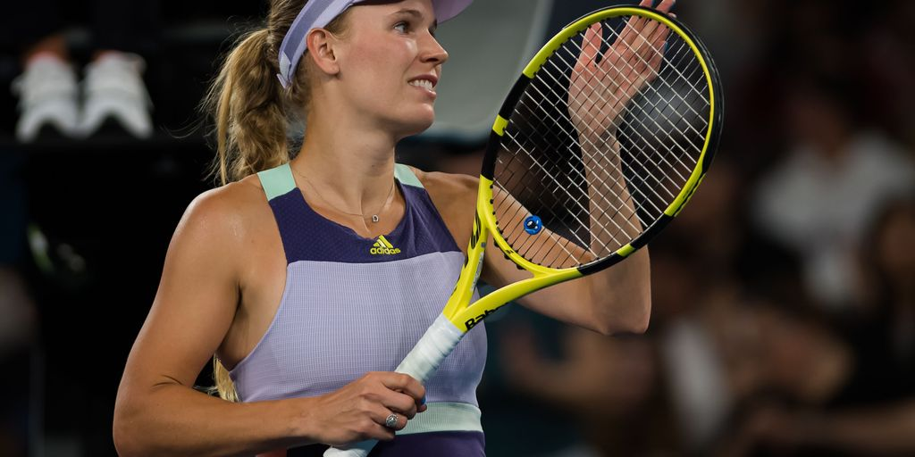 Wozniacki extends career with Yastremska victory at Australian Open