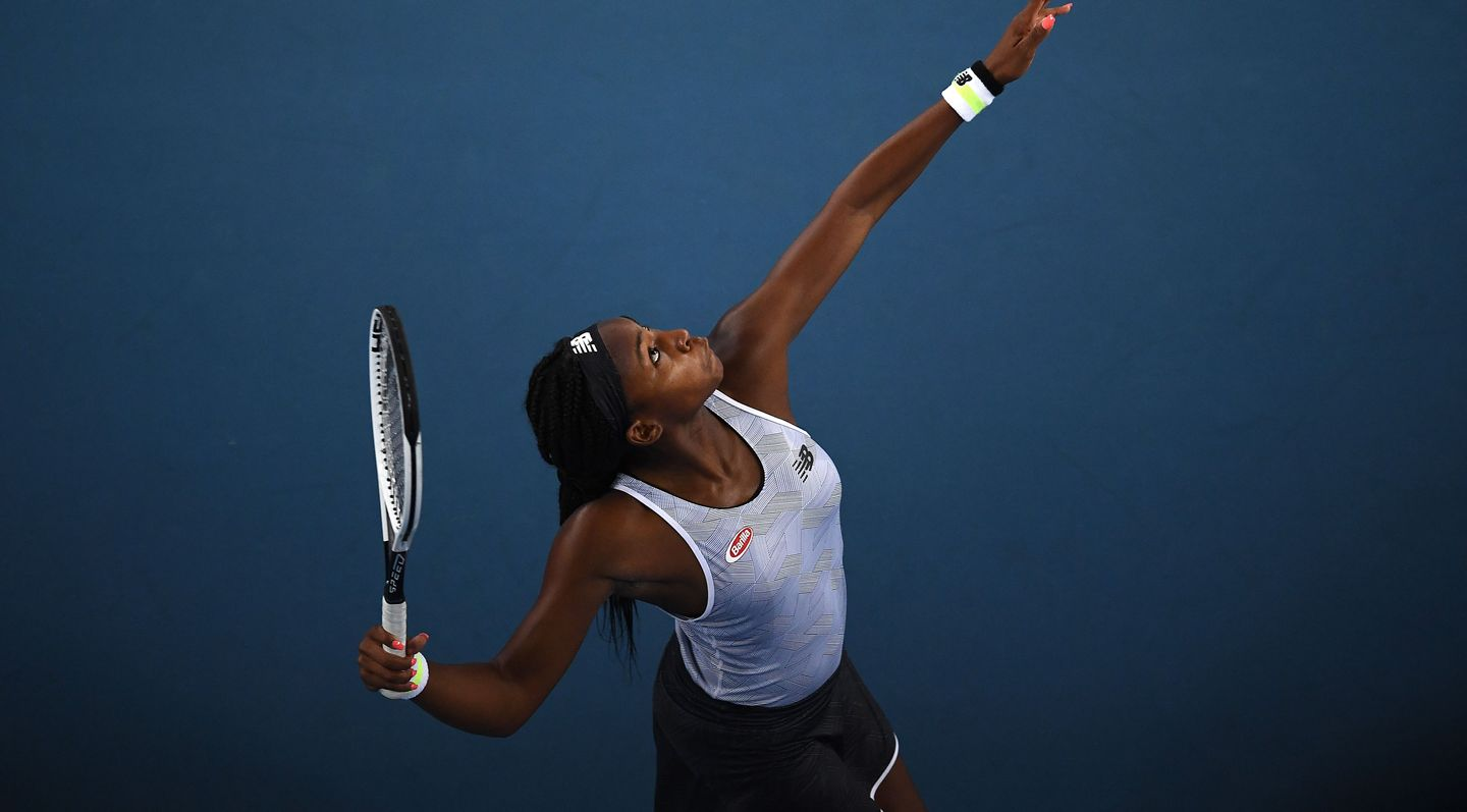 Gauff Books Osaka Rematch At Australian Open After
