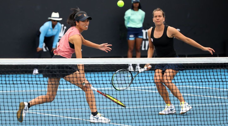 2020 Australian Open Highlights: Top seeds Hsieh, Strycova stop Stojanovic, Jurak to reach quarterfinals