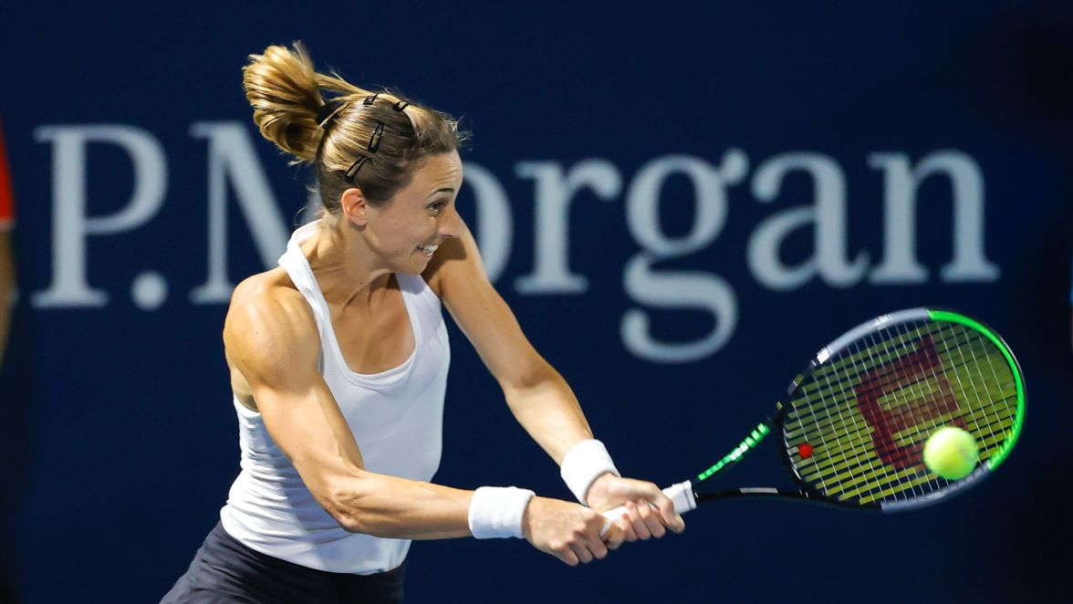 Eighth seed Petra Martic moved past Hsieh Su-Wei in straight sets in the first round.