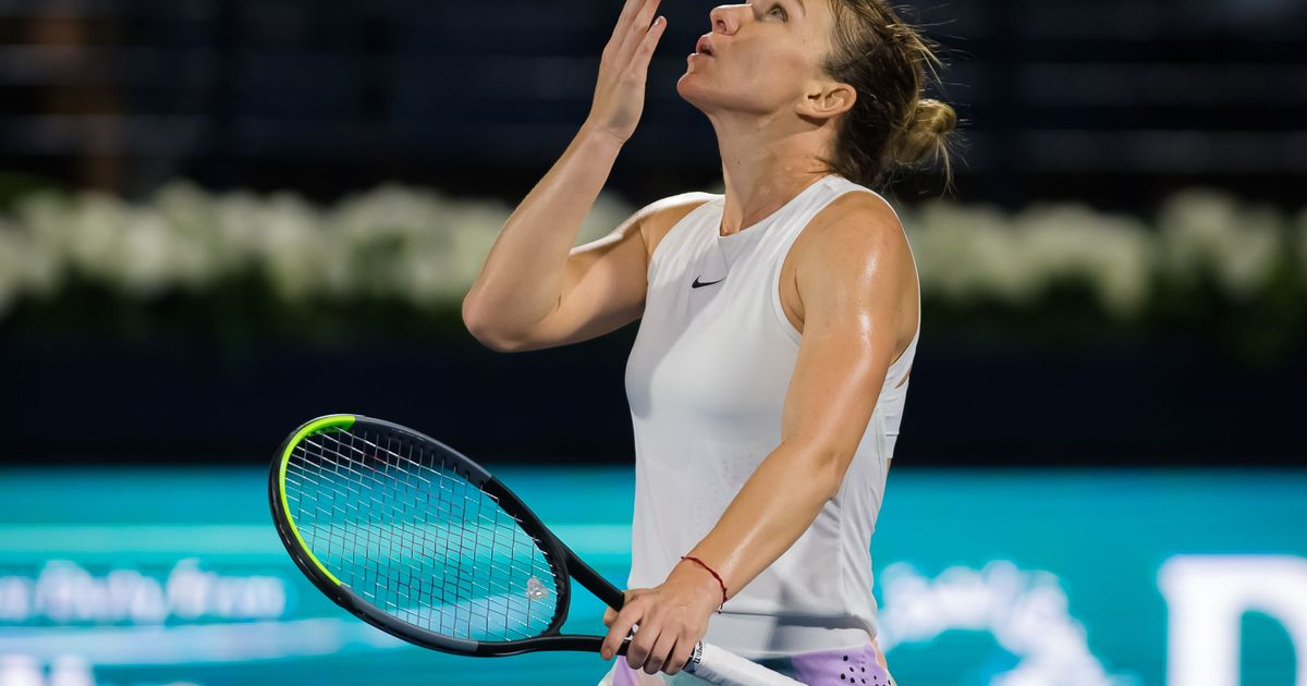 Halep fights past Rybakina for 20th career title at Dubai