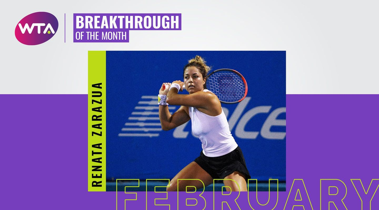 February 2020 Breakthrough Of The Month Renata Zarazua