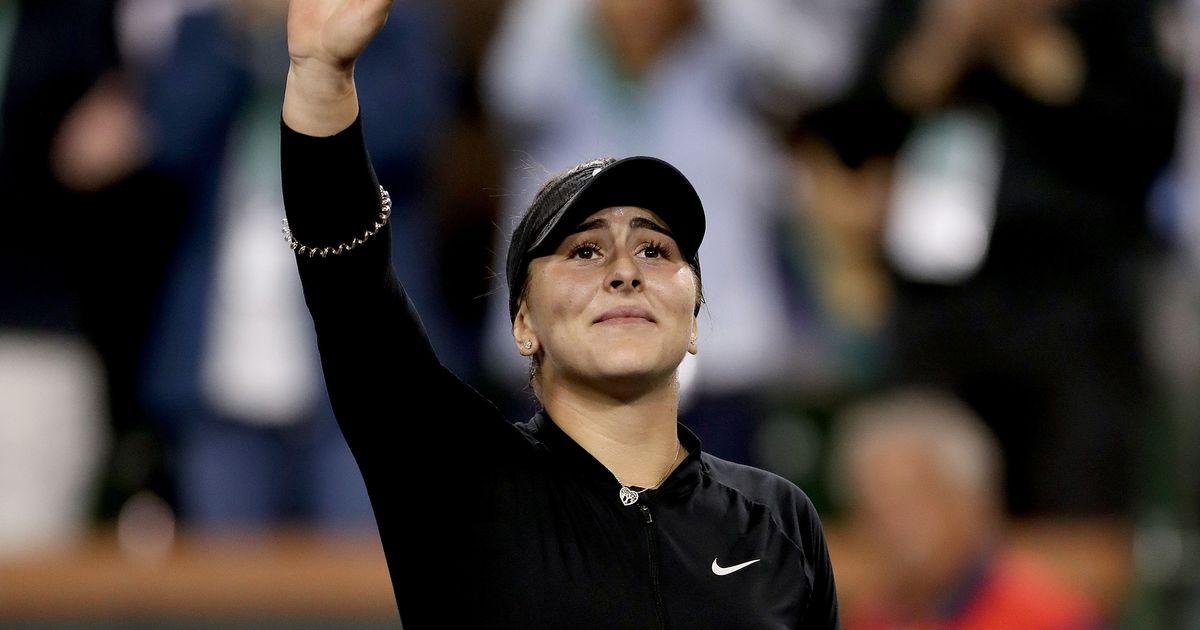 Indian Wells Rewind: Andreescu stuns Svitolina in breakthrough run
