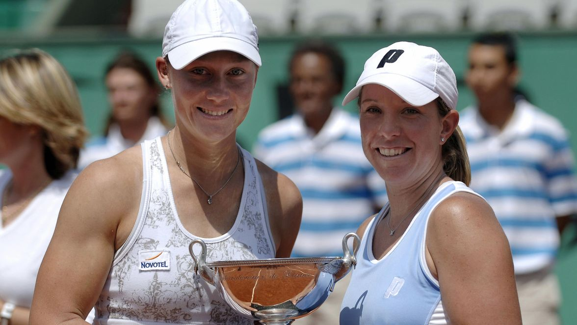 Samantha Stosur and Lisa Raymond took the title in 2006 as the top seeds. The pair claimed their second Grand Slam title as a tandem, having also won the US Open in 2005.