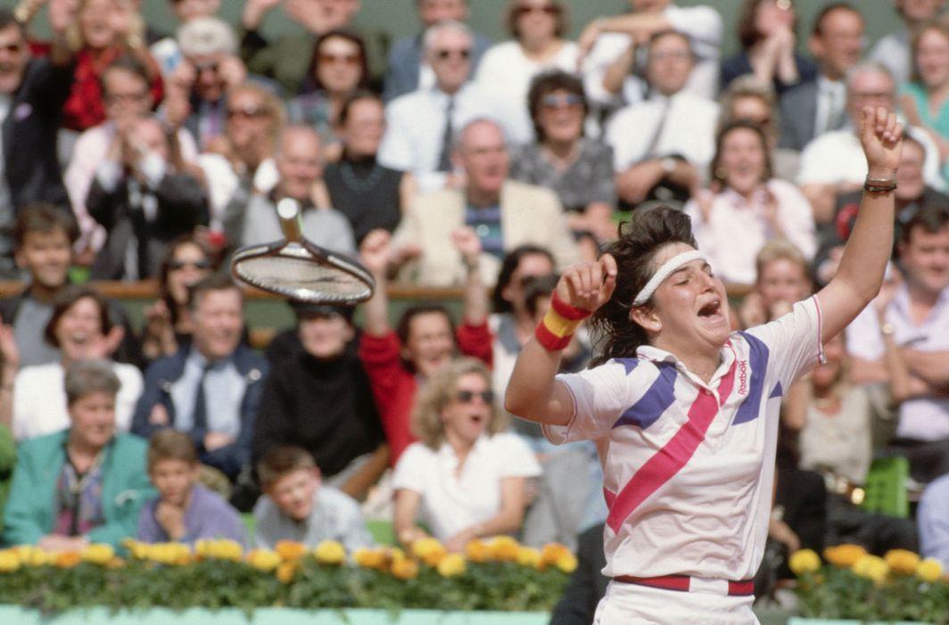 Sanchez Vicario Roland Garros 1989