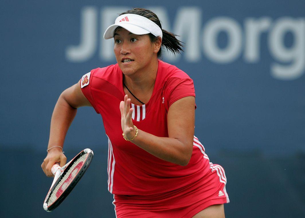 Tamarine Tanasugarn at the US Open in 2005