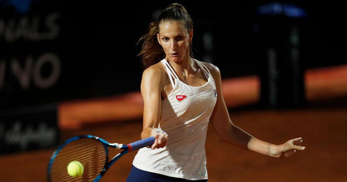 Pliskova starts Rome title defense with Strycova victory