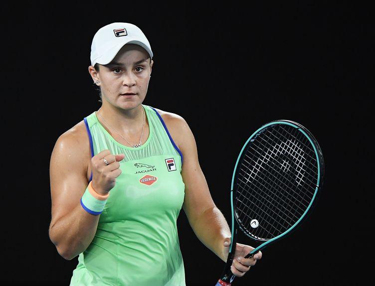 Ashleigh Barty - 2020 Australian Open - Getty
