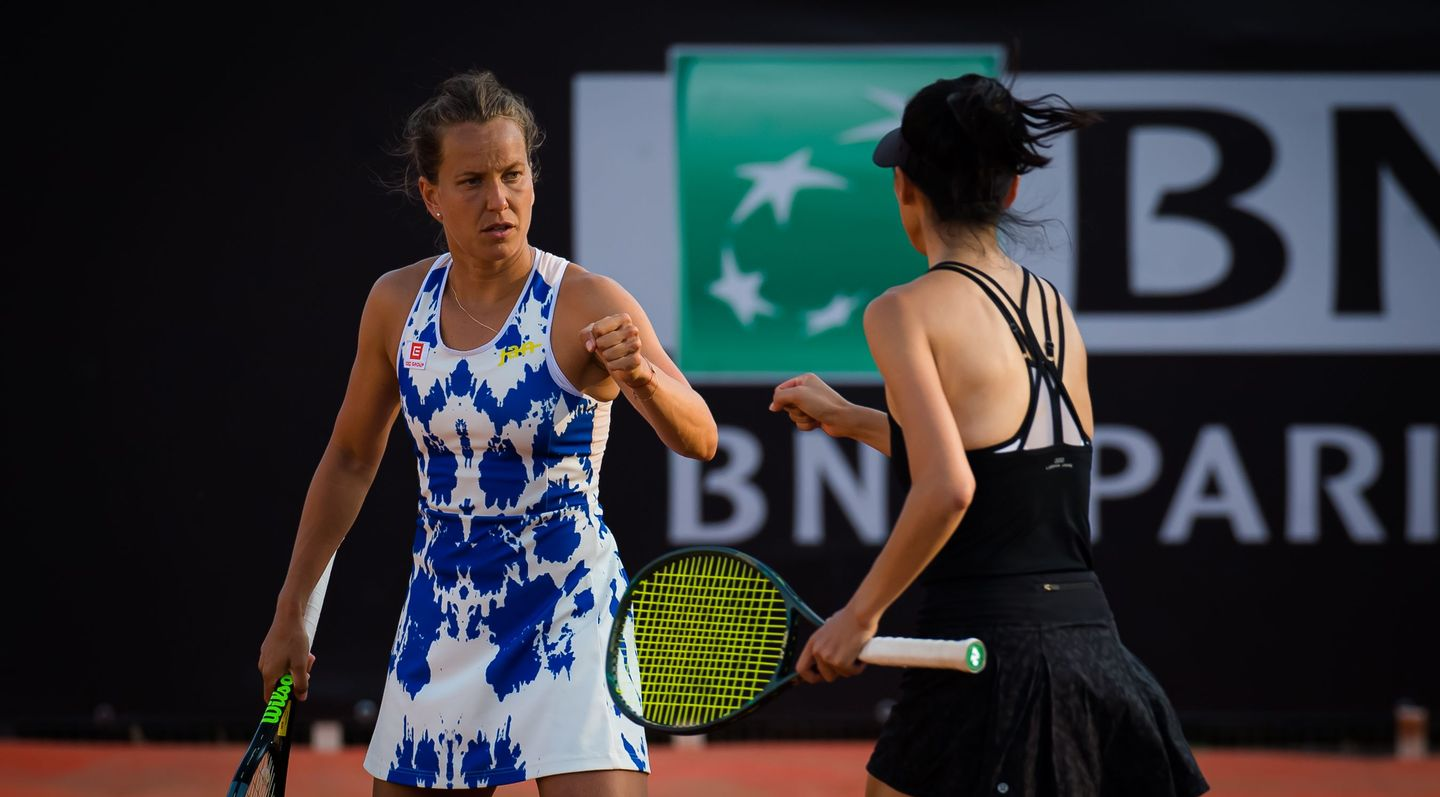 Hsieh And Strycova Reunite To Reach Rome Doubles Final