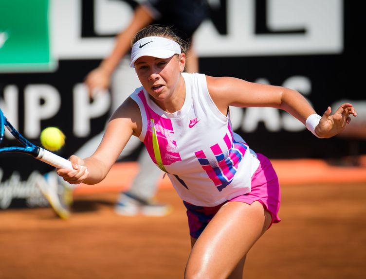 Amanda Anisimova - 2020 Rome - Jimmie48/WTA
