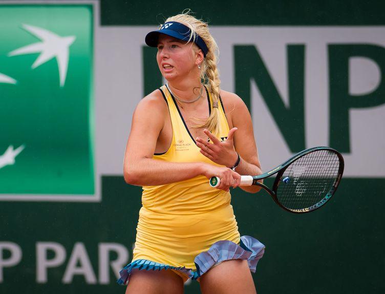Clara Tauson, Roland Garros 2020