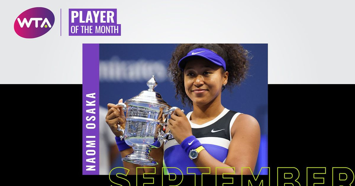 September 2020 Player of the Month: Naomi Osaka