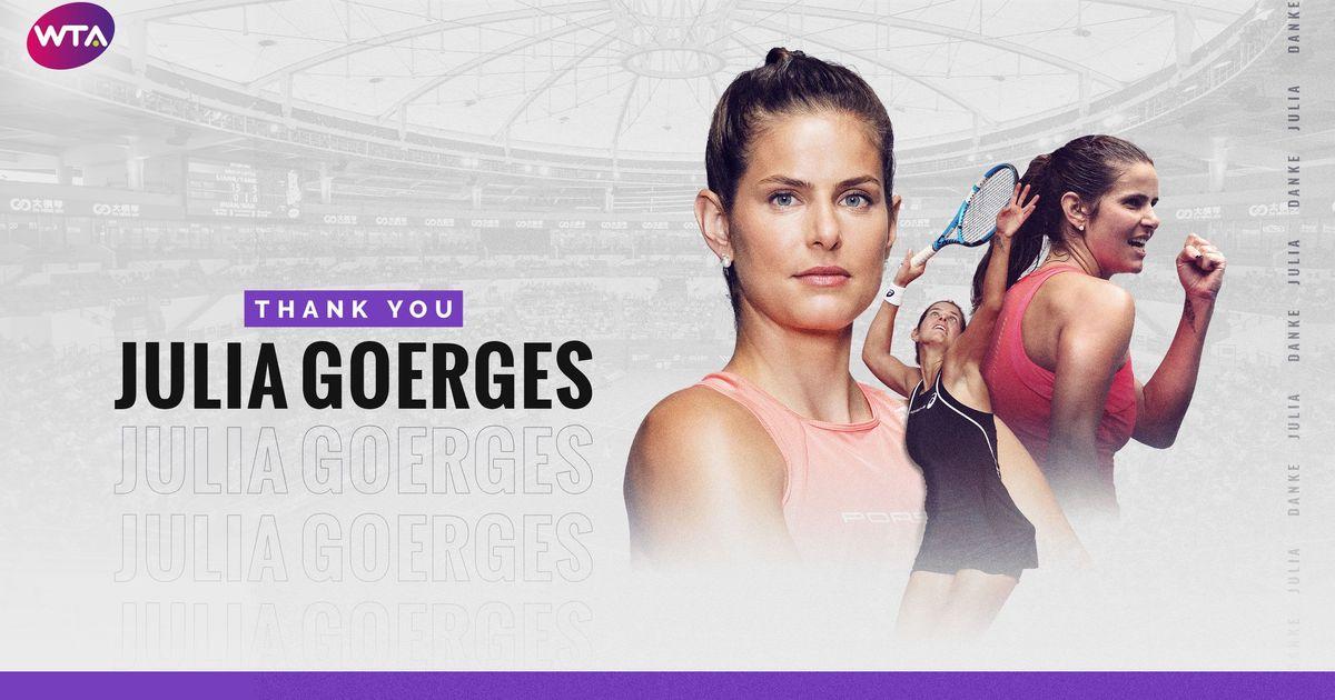 WTA celebrates career of Julia Goerges