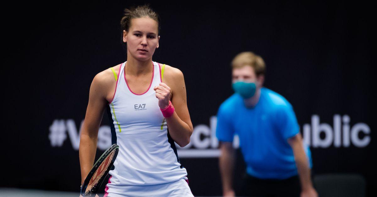 Kudermetova conquers Pliskova in Ostrava upset