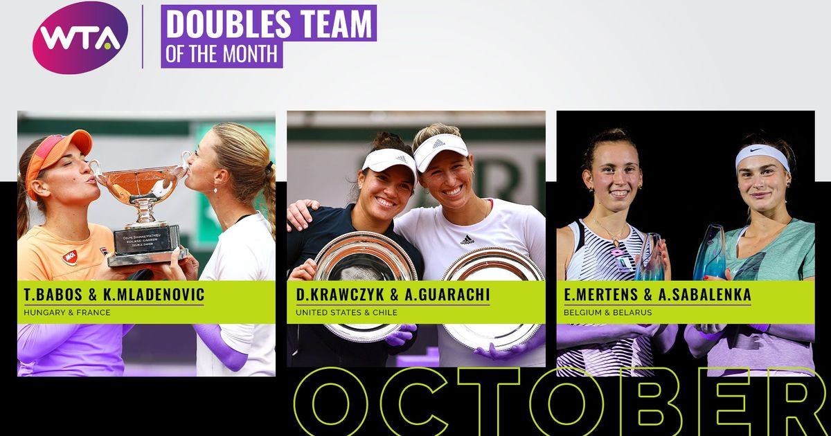 Vote: October 2020 Doubles Team of the Month