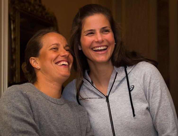 Barbora Strycova Julia Goerges 2019 Doha JJ