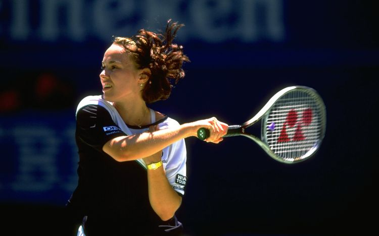 Hingis - 1999 Australian Open - Getty