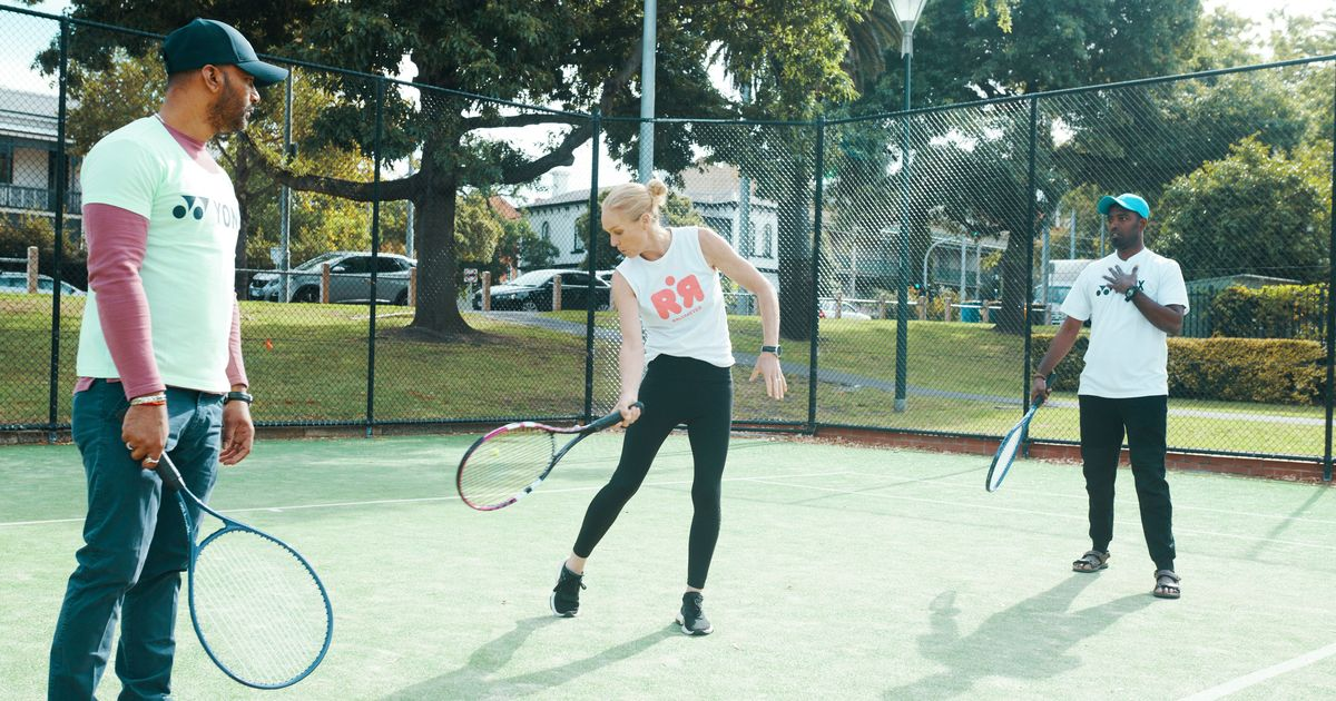 How one former WTA player is bringing awareness to mental health issues through tennis