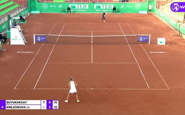 Krejcikova beats former champ Buyukakcay in Istanbul dropshot fest: Highlights