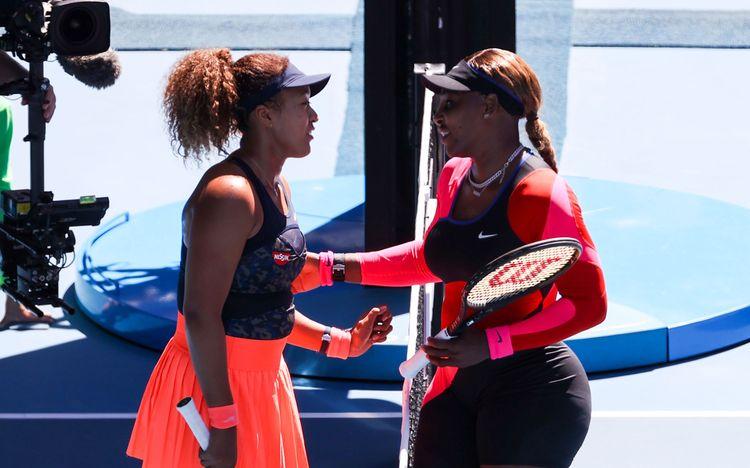 Naomi Osaka, Serena Williams - Australian Open 2021