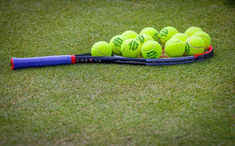 Grass-court tennis