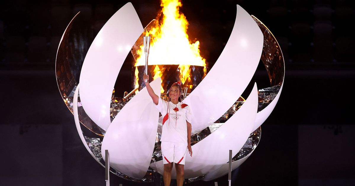 Tokyo 2020: Osaka turns into the primary tennis participant to gentle the Olympic Cauldron