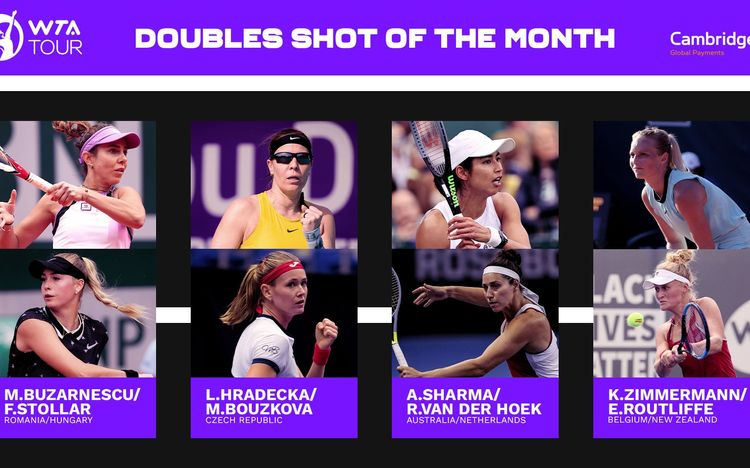 August shots of the month in doubles