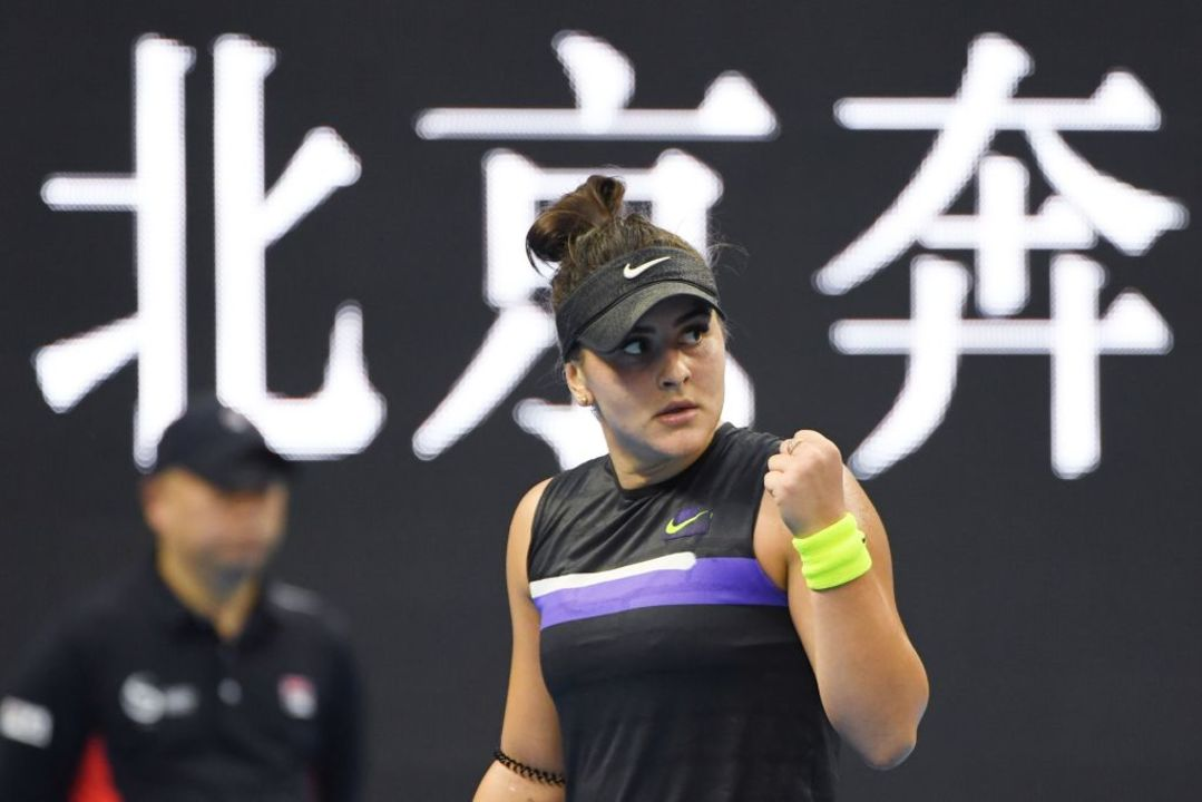 Andreescu becomes first tennis player to win Lou Marsh Trophy