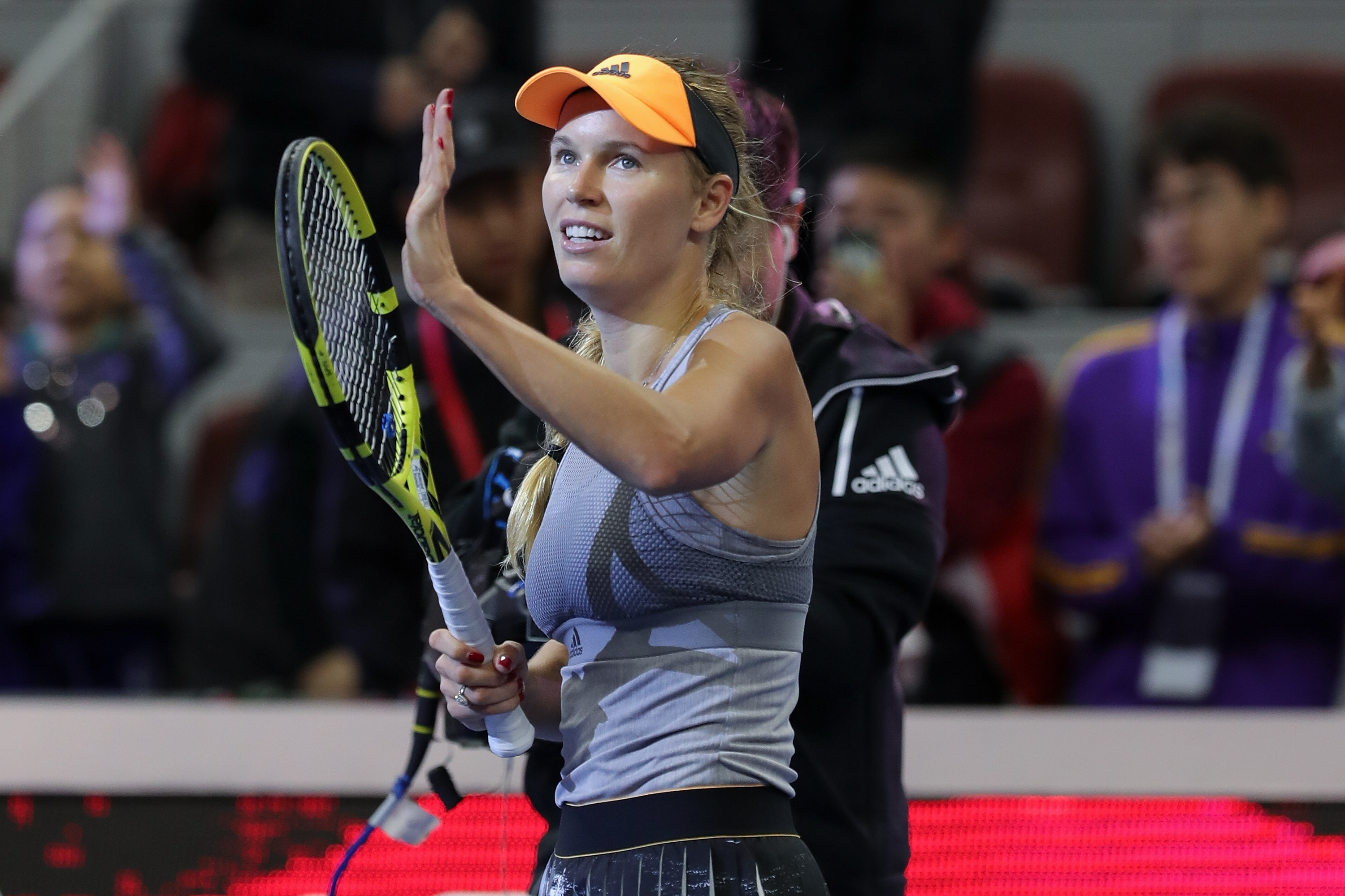 'An amazing career': Tennis world reacts to Wozniacki's retirement announcement